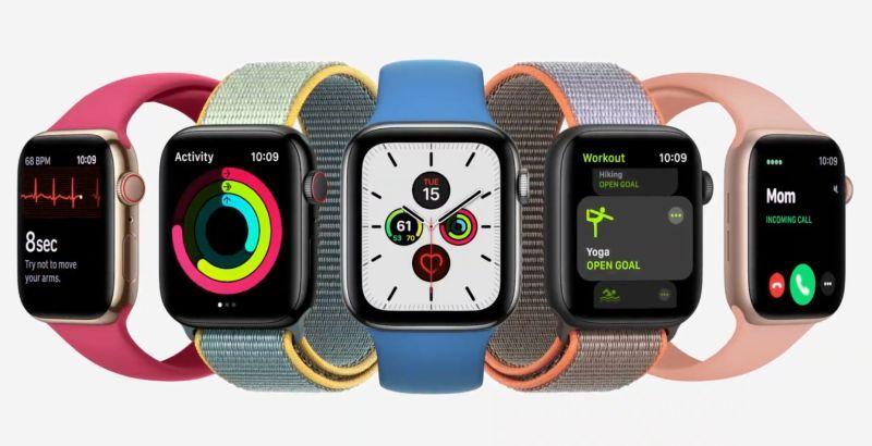 苹果发表新款Apple Watch S6、SE